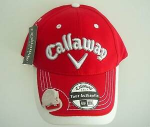 NEW CALLAWAY GOLF CAP HAT with CALLAWAY MAGNETIC BALL MARKER 10517bcbd29