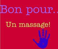 Massothérapie : massages de détente / thérapeutique