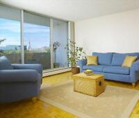 121 St NW and Jasper Ave NW: 10145 – 121 Street, 1BR