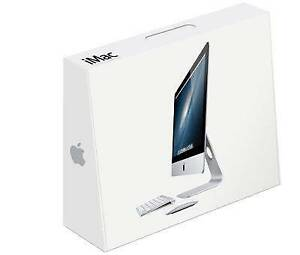 iMac 21.5 inch packaging box (Slim model) without safety form