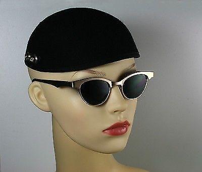 vintage 1980s punk era retro 1930s 1950s steampunk sunglasses Hi Tek Alexander