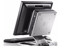 22 INCH HP DESKTOP TOWER PC COMPUTER SYSTEM & ' LCD TFT CHEAP ON