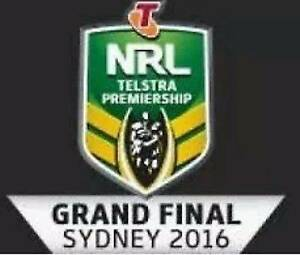 3 X GOLD TICKETS NRL GRAND FINAL Newtown Inner Sydney Preview
