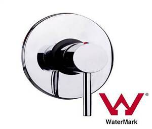 ON SALE - Chrome Bathroom Shower Wall Mixer w/ WaterMark Silverwater Auburn Area Preview