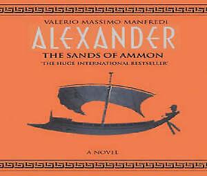 Alexander-The-Sands-of-Ammon-NEW-SEALED-Valerio-Massimo-Manfredi-3-x-Disc