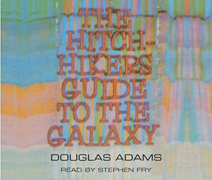 The-Hitchhikers-Guide-to-the-Galaxy-Douglas-Adams-Audio-CD-Book-NEW-97814050