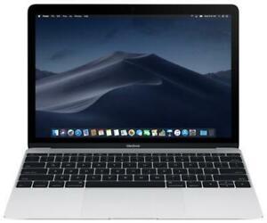 Macbook 2016 - Silver - Intel M5 Processor, 8Gb RAM, 512Gb SSD, 12 Screen, 1 Year Warranty