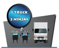 BOOK NOW - $55/hr 20ft truck 2 Movers. NO HIDING FEES