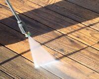 Deck Power Washing & Painting