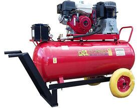 ENGINE COMPRESSOR 8HP HONDA 270 LITRE