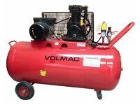 HOWDEN TOOLS 200Ltr Volmac compressor 05302