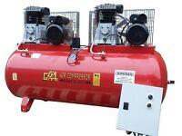 Howden Tools 270Ltr Tandam Compressor