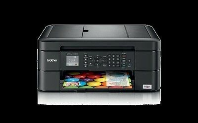 Brother MFC-J480DW Tintenstrahl-Multifunktionsgerät A4 4-in-1 Drucker Kopierer ()