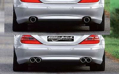 Mercedes Benz SL R230 Sport Edition Auspuff Endschalldämpfer Edelstahl C