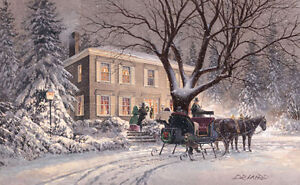Winter Welcome By Douglas Laird Limited Edition Print Gift Idea