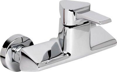 Grifería de Ducha Cromo 1-Hebel Mezclador Grifo para la Cajetín
