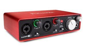 Scarlett Focusrite 2i2 Audio Interface New in Box