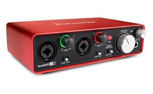 Scarlett 2i2Mk2 Audio Interface - New in Box