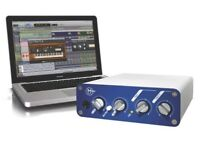 Genuine copy of Pro Tools LE 8 and an MBox 2 Mini audio interface for sale