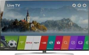 DAMAGED HUGE 86'' LG SUPER 4K ULTRA HD SMART TV FOR SALE!!!