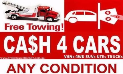 CASH & FREE TOW AWAY 4 CAR UTE VAN 4X4 TRUCK IN HRS IN ALL HOURS Redfern Inner Sydney Preview