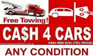 CASH PAID ON THE SPOT AND FREE TOWING FOR ALL UNWANTED CARS Menai Sutherland Area Preview