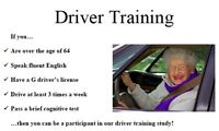 Free Training for Older drivers