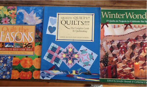 3 Quilting Books