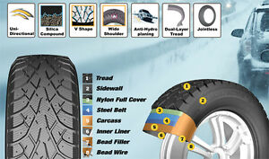 ***NEW WINTER TIRE SALE!!! Noble 185/65R15 ONLY$59 EACH***
