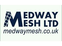 MESH STEEL REINFORCEMENT ALL SIZES IN STOCK FREE KENT HIAB DELIVERY
