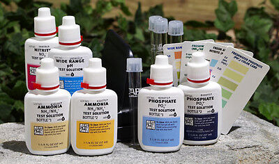 Pond Care Complete Test Kit: pH, Ammonia, Nitrite and Phosphate