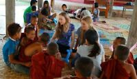 Volunteer in Myanmar. Help a village with farming and education.