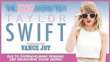 TAYLOR SWIFT MELBOURNE 12/12/15 FINAL1989 Show! VIP Package 2 X3 Chadstone Monash Area Preview