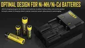 brand new Nitecore Battery Charger for 16340 10440 AA AAA ETC