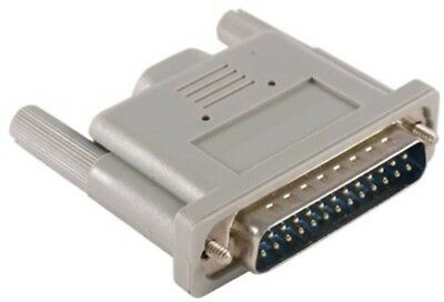 Parallel/printer Loopback Tester Adapter Db25 Male Port Loop Back