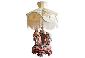 Capodimonte Lamp | eBay