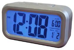 Westclox, Large, Silver, LCD Alarm Clock