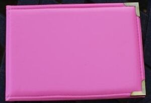 Bright-Hot-Pink-6-x4-Pocket-Photo-Album-Hold-36-Photos