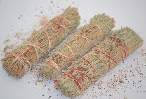 """Dragons Sage Smudge 4"""" to 5"""" Stick House Cleansing Negativity Removal WHOLESALE"""