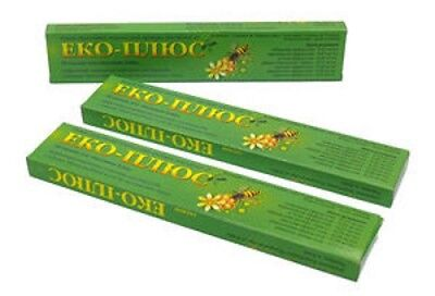 Eco- Plus For Bees Against Varroatosis And Acarapidosis 3x10 Strips