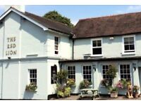 Kitchen Porter (live out) - The Red Lion, Horsell, near Woking - up to £7.50 per hour + GREAT TIPS