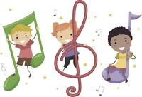 Drop In Music class for ages birth to 5 years!