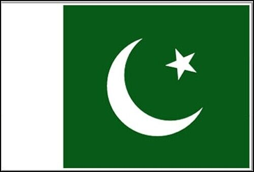 OUTBOUND Flag Of Pakistan 5x3