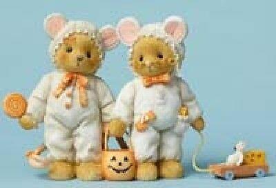 Cherished Teddies - Teresa and Randall - Trick or Cheese!  #4047368