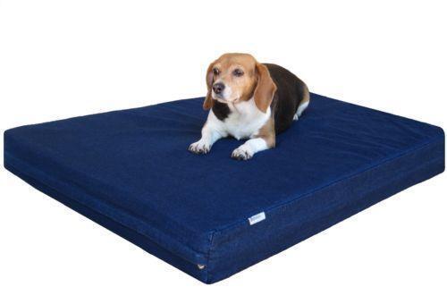 Large Dog Bed Memory Foam Ebay