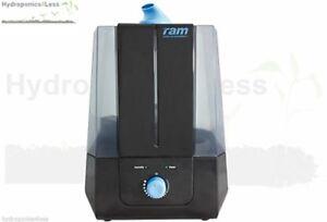 Ram Ultrasonic Humidifier Mist Maker 400ml/hr Adjustable Hydroponics Grow Room