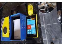 Nokia Lumia 1020 - 32GB - Yellow (Unlocked) Smartphone unlocked