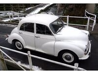 Morris Minor 1000 12 month MOT. Ready to go!