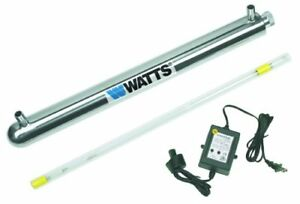 Watts Premier 270156 12-GPM 1-Inch 110-Volt UV Disinfection Syst