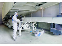 Commercial vehicle painter required